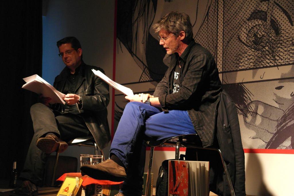 Robert Mießner und Joerg Waehner