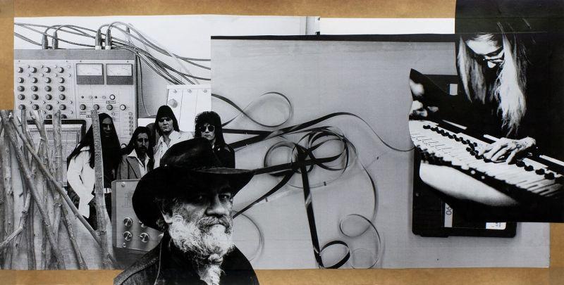 """Klaus Killisch """"tellusmore"""" 2015, Collage"""