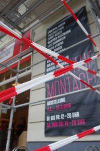 Nach Montage ist vor Montage - Umbau in der Galerie Pankow