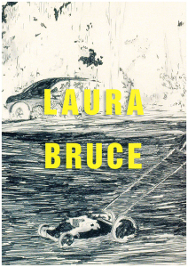 Umschlag des Katalogs von Laura Bruce
