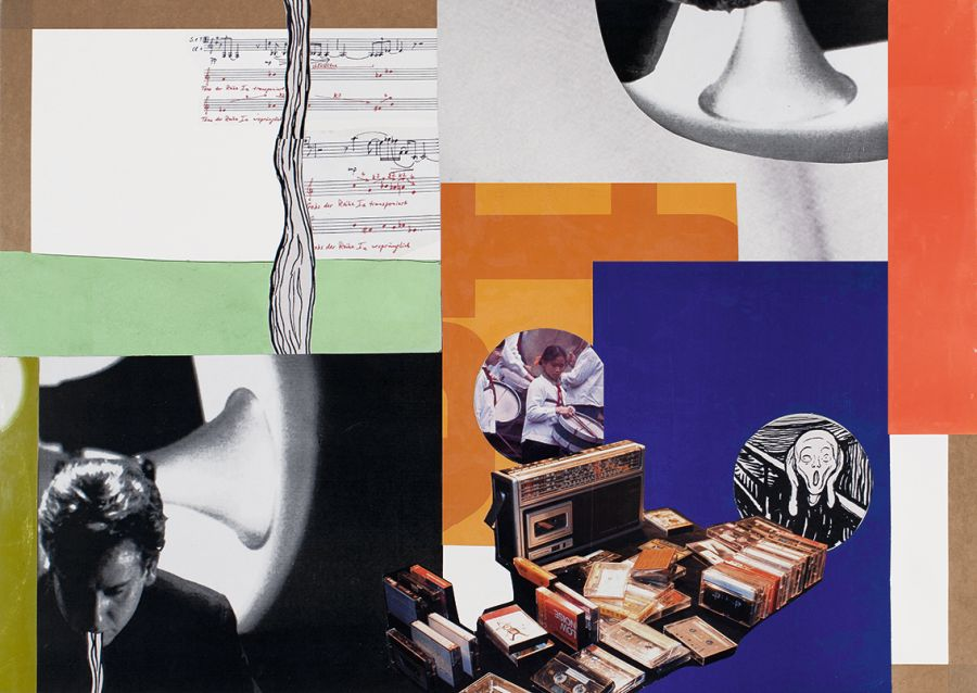 Collage des Künstlers Klaus Killisch