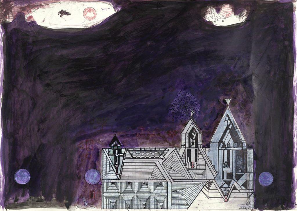 Arbeit auf Papier des Künstlers Walter Libuda