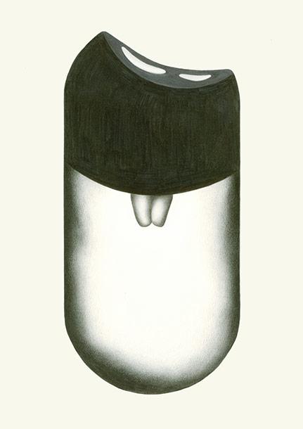 Zeichnung der Künstlerin Hanna Hennenkemper