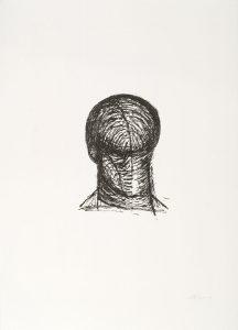Lithografie von Lothar Böhme