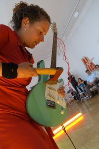 Catherine Lorent in der Galerie Pankow