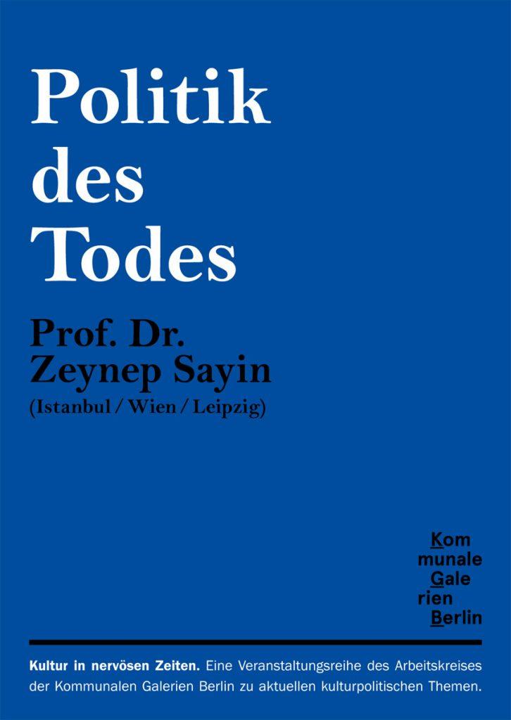 Vortrag von Prof. Dr. Zeynep Sayin